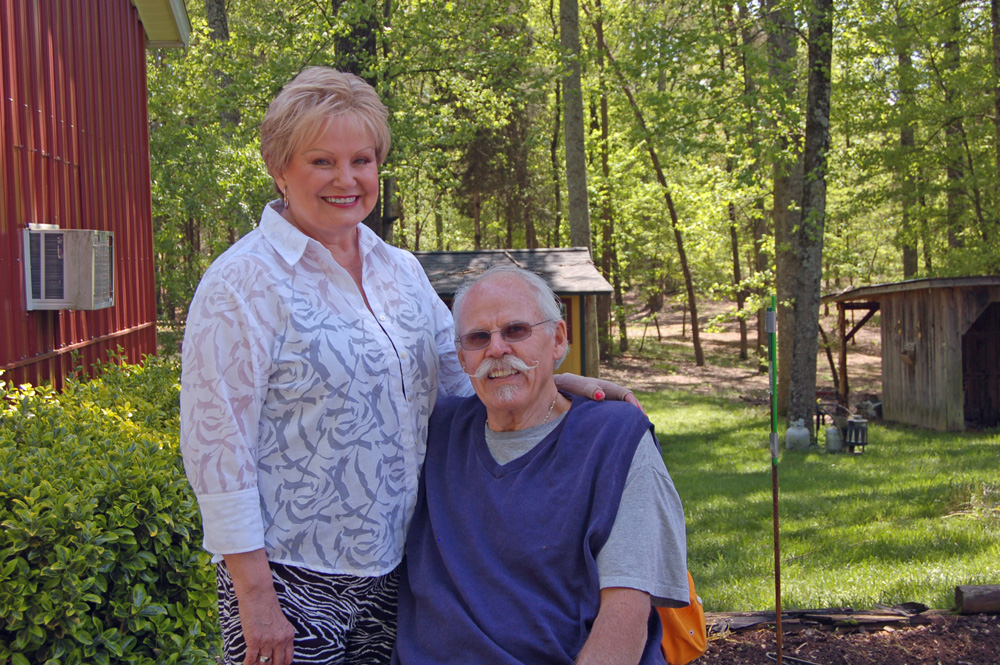 With Jane Everett being so sick, her husband Charlie Everett stepped into the caregiver role.