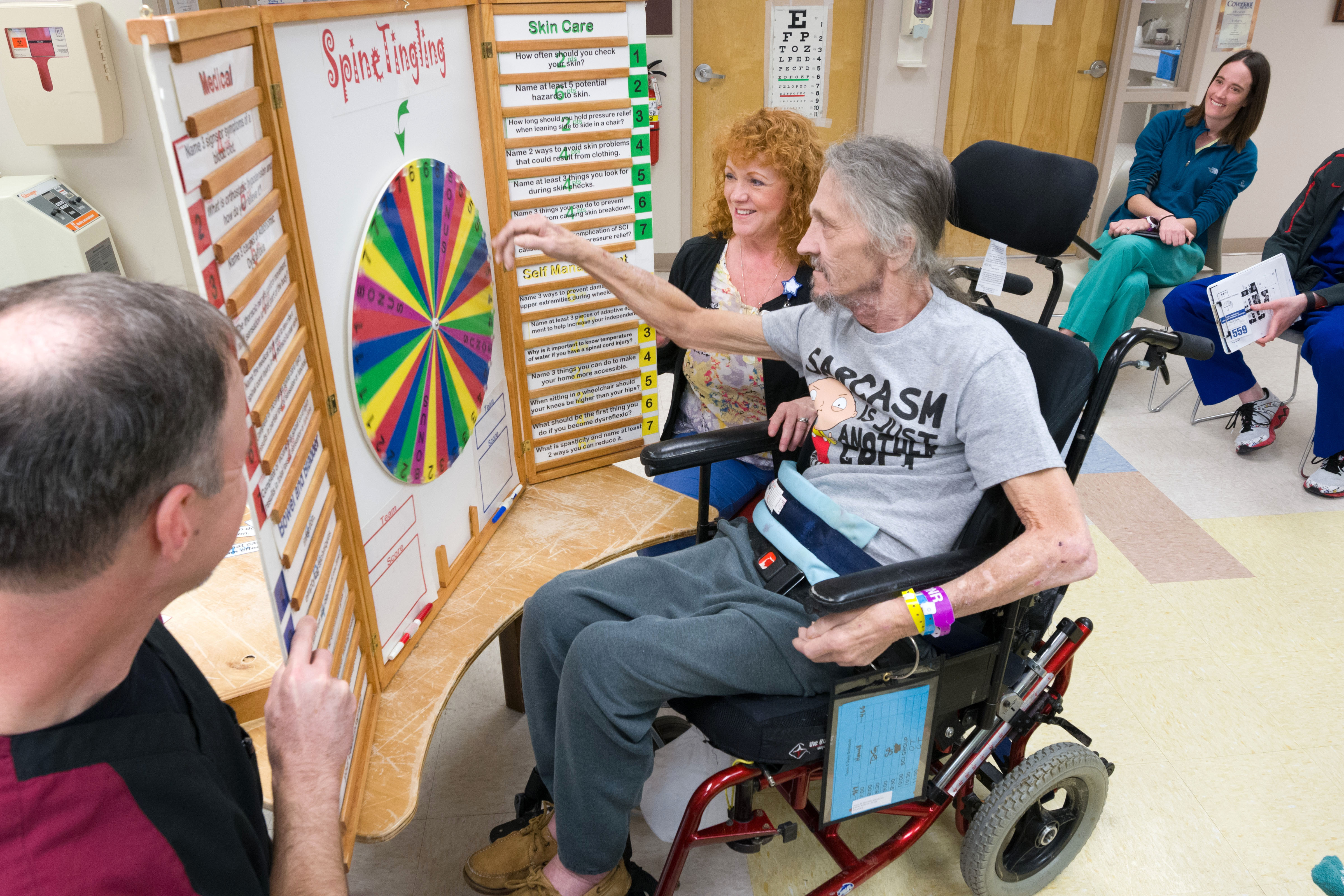 For People With Spinal Cord Injuries >> Spinal Cord Injury Patricia Neal Rehabilitation Center
