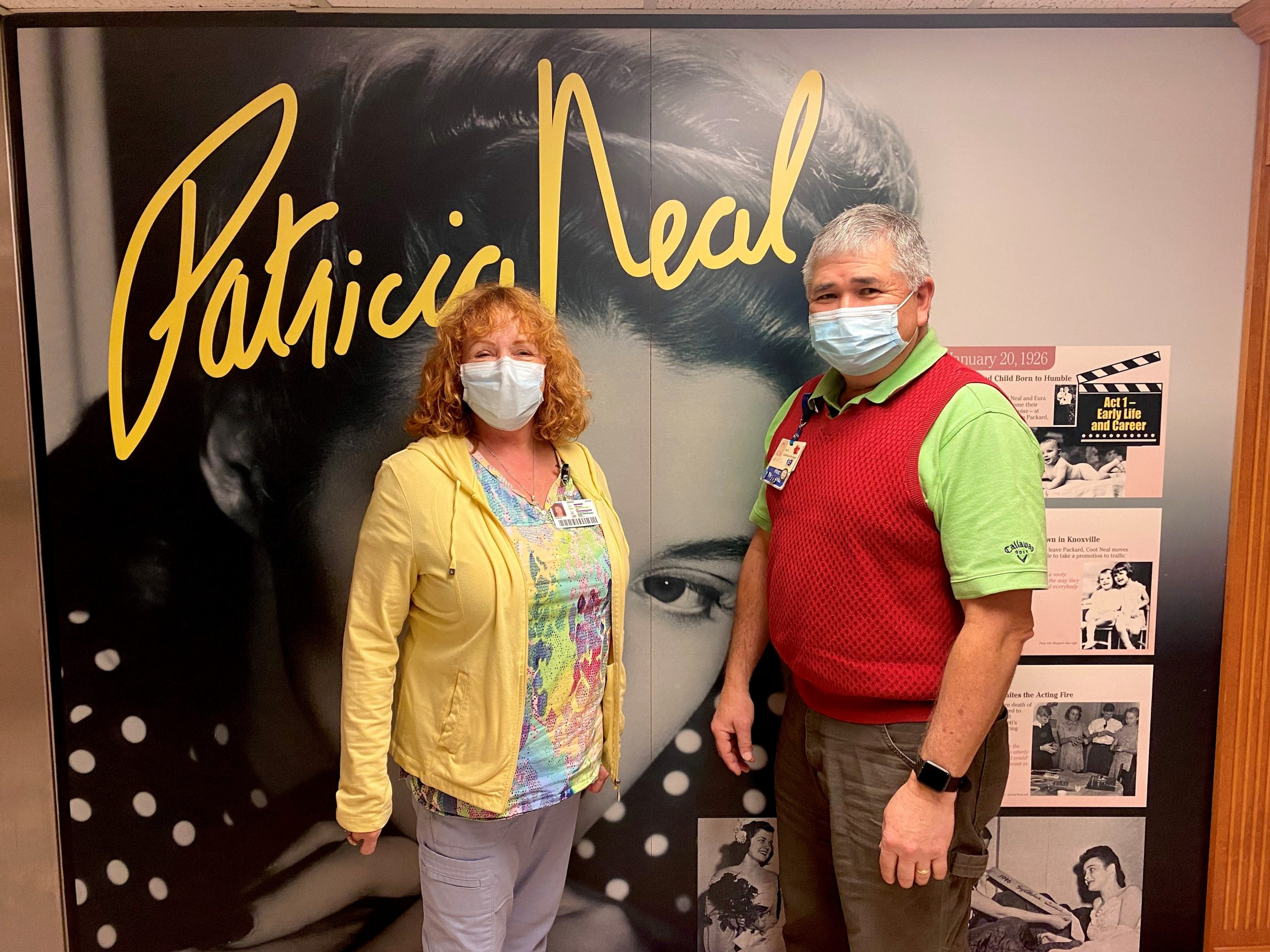 Theresa Asbury and Al Kaye, recreation therapists at Patricia Neal Rehabilitation Center